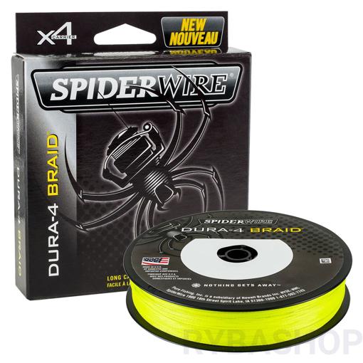 SpiderWire Dura 4 Hi-Vis žlutá 150 m