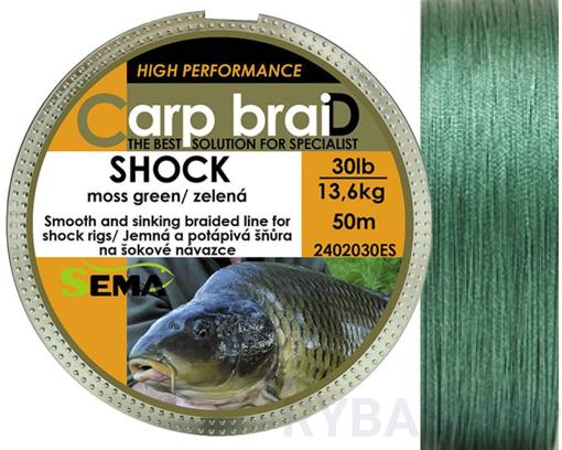 Sema Carp braiD Shock 50m