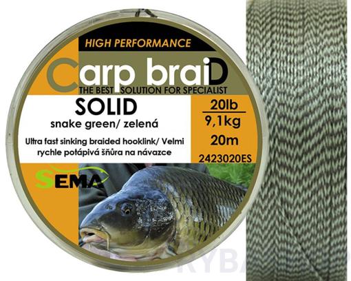 Sema Carp braiD Solid 10m